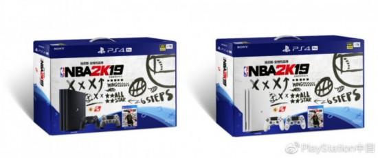 《NBA 2K19》PS4 Pro国行珍藏版18日上架