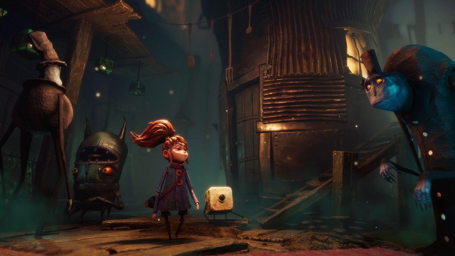全新的游戏《Lost in Random》画面风格独特,玩法主要依靠骰子