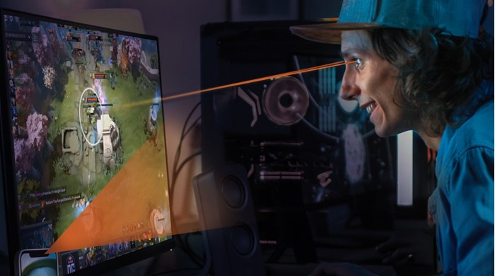Eyeware Beam使用iPhone追踪玩家在游戏中的眼睛运动