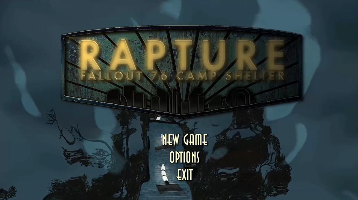 玩家在《辐射76》中还原《生化奇兵》系列销魂城