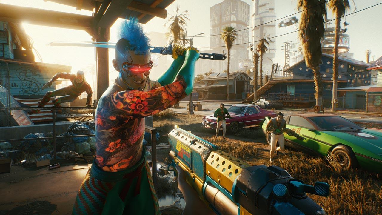 《赛博朋克2077》原本是第三人称 原计划加入贴墙跑、飞行汽车