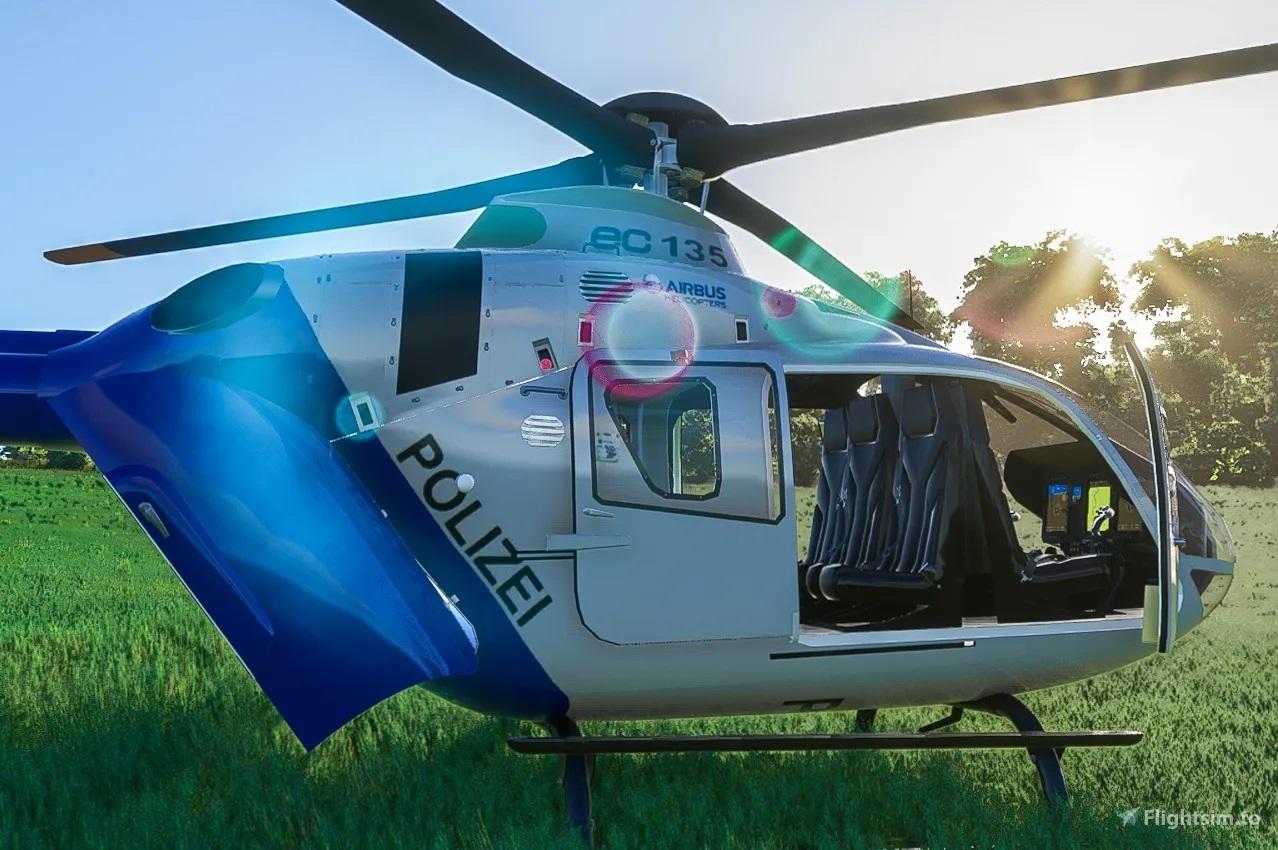 《微软飞行模拟》不支持直升机 但这款MOD做到了