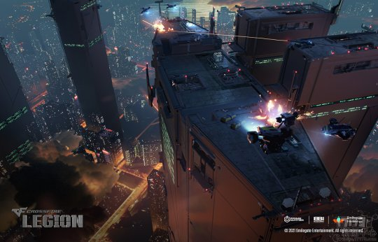 即时战略PC游戏《穿越火线:军团》游戏截图公开