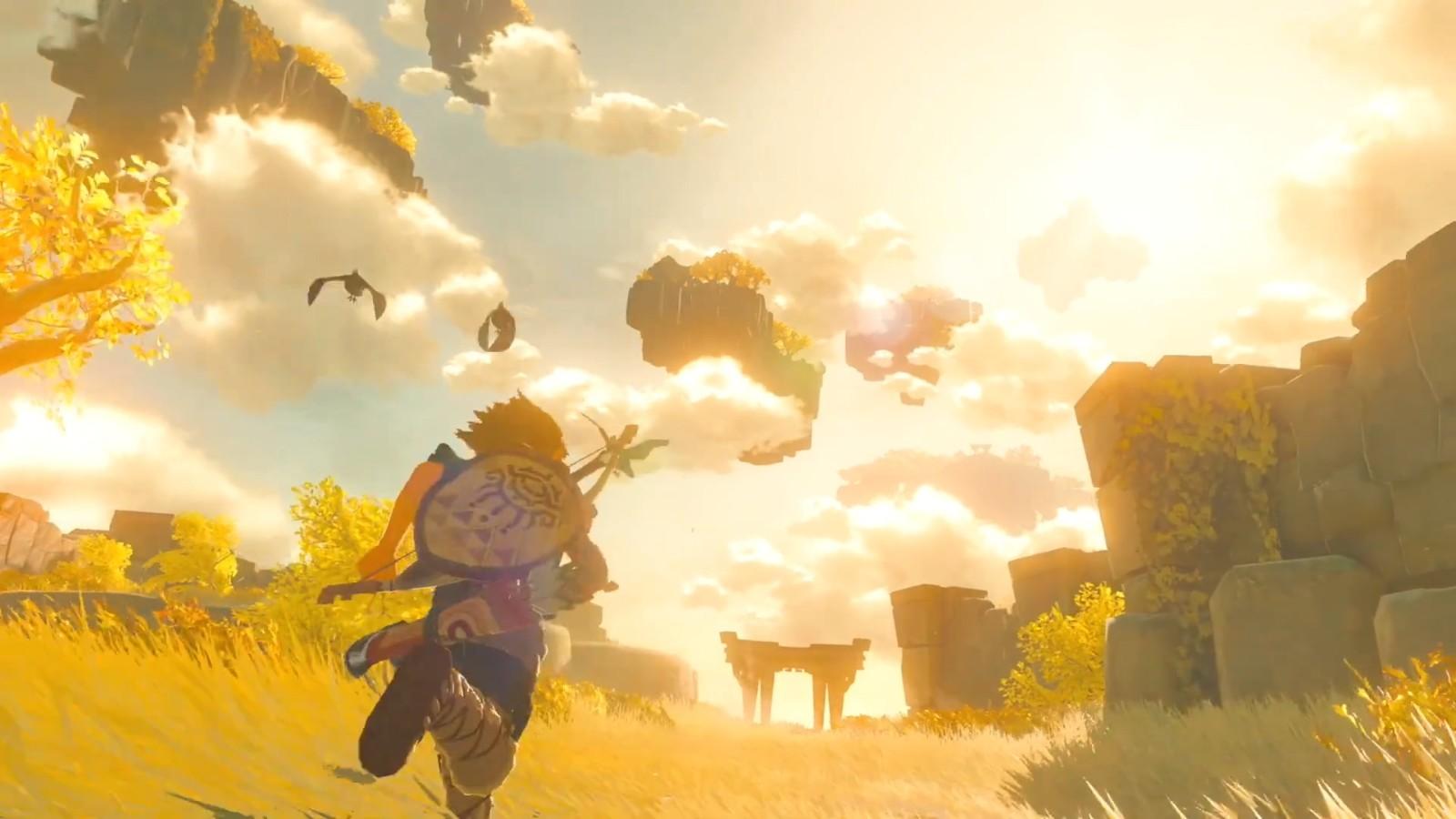 《塞尔达传说:旷野之息2》2022年登陆Switch