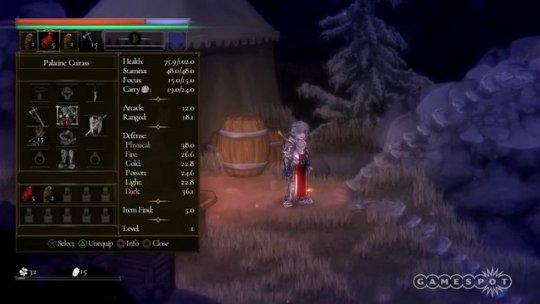 硬核动作RPG《盐和祭品》公布新实机演示 游戏将于2022年发售