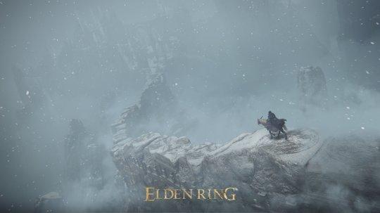 《艾尔登法环》发布全新截图 乘战马攀登世界之巅