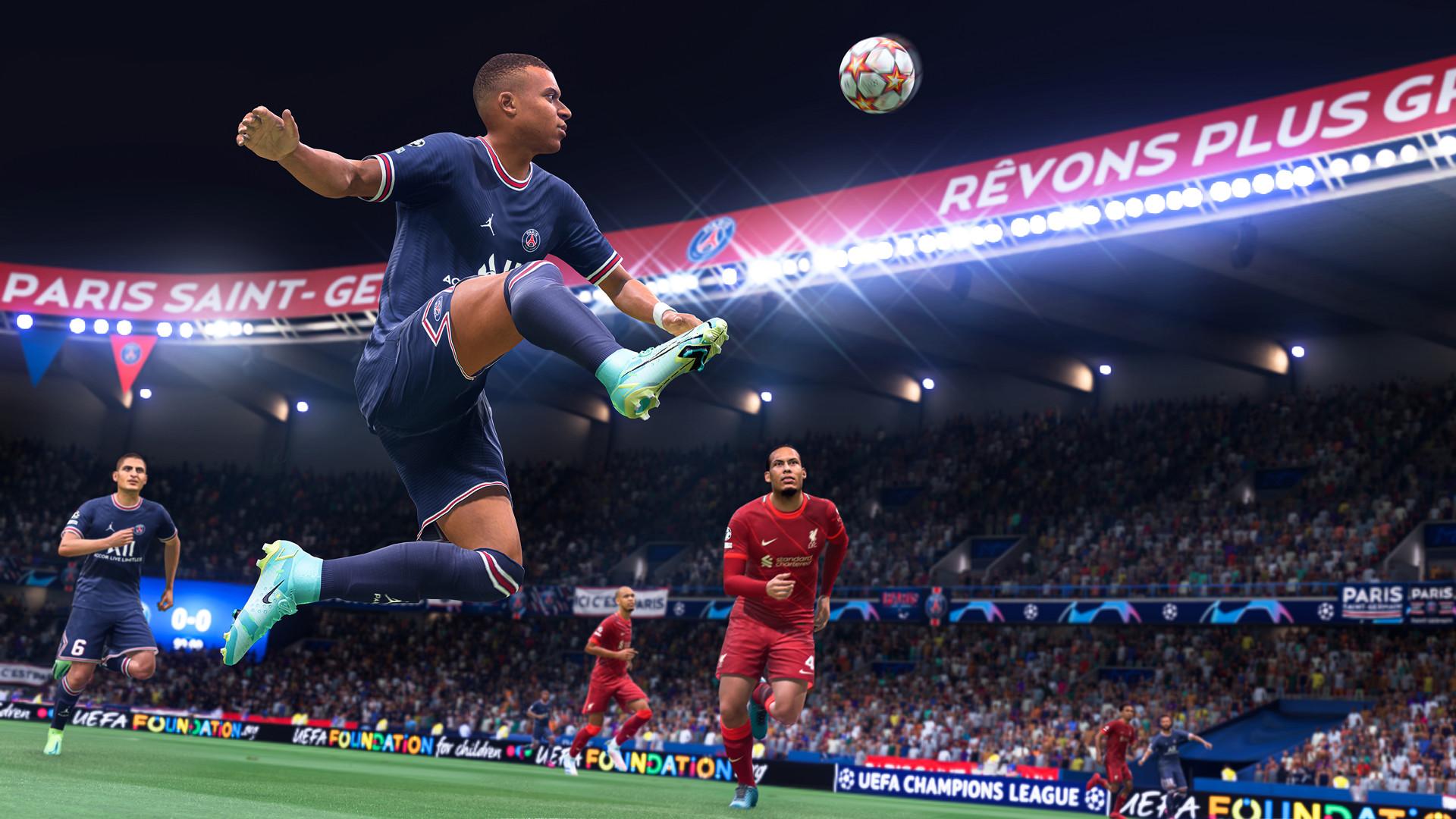 EA:未成年人不应该在《FIFA 22》终极球队模式花钱