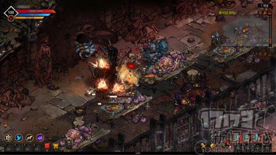 免安装 韩国产H5游戏《疯狂的世界》开启3.0封测